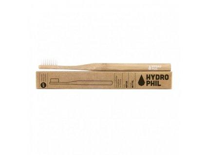 Hydrophil Bambusový kartáček medium natural 100% z obnovitelných zdrojů