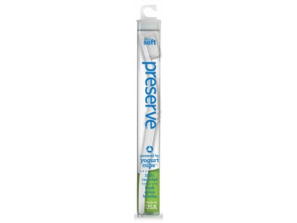 Preserve Zubní kartáček medium - bílý