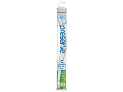 Preserve Zubní kartáček soft - bílý