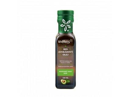 Wolfberry BIO Avokádový olej 100 ml a