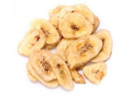 bananove chipsy sušené