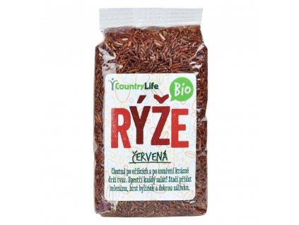 COUNTRY LIFE Rýže červená neloupaná BIO 500 g