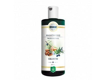 TOPVET Celustin masážní olej 200ml