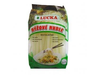 Lucka Rýžové nudle bezvaječné 7mm 240g