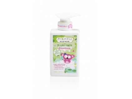 Pěna do koupele Jack N´Jill NATURAL BATHTIME SWEETNESS