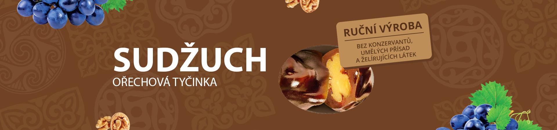 Mňamkový ořecho-hroznový sudžuch