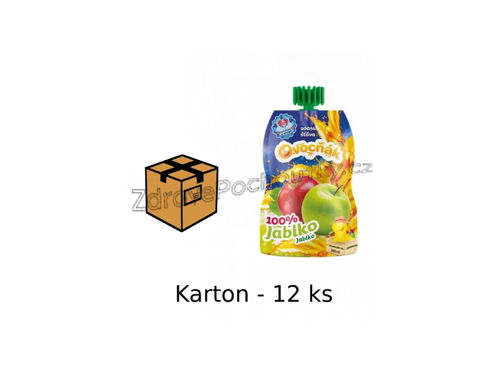 200ml jablko most karton