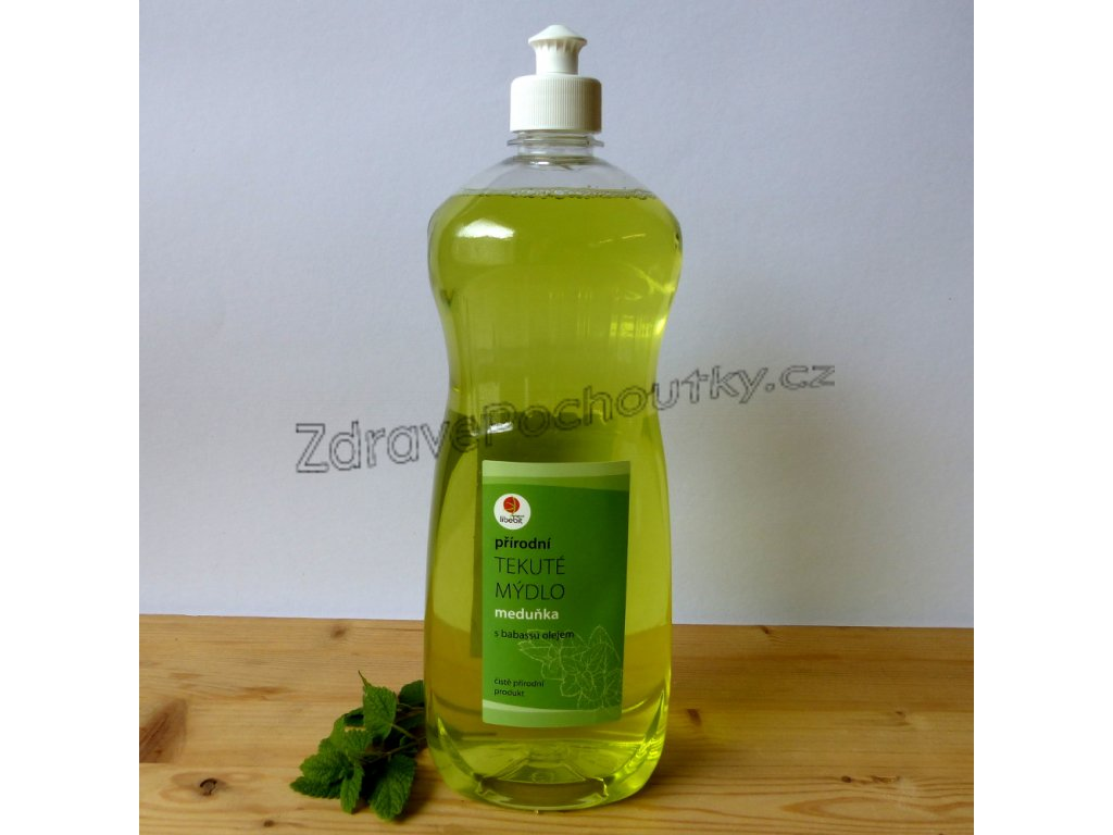 Tekute mydlo s olejem babassu 1L