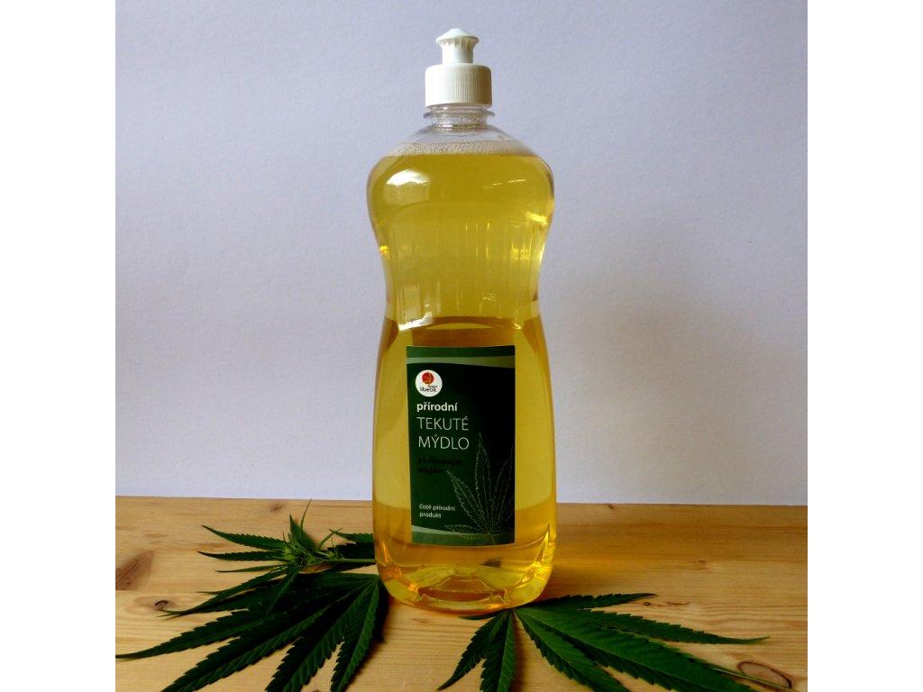 Tekute mydlo s konopnym olejem 1l