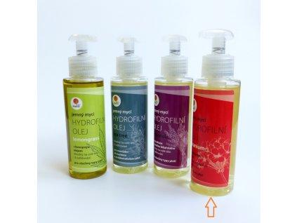 Hydrofilni oleje geranium