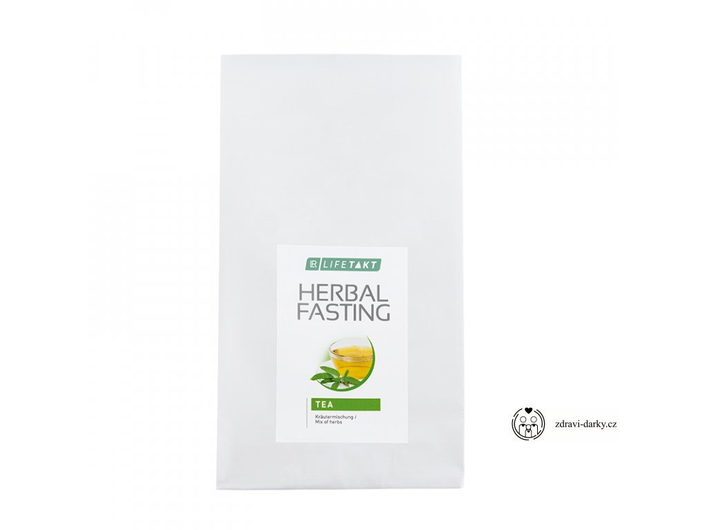 Směs bylin se zeleným čajem k přípravě nálevu Herbal Fasting, 250 gramů