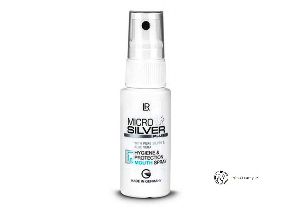 Microsilver Plus Ústní sprej pro hygienickou péči, 30ml