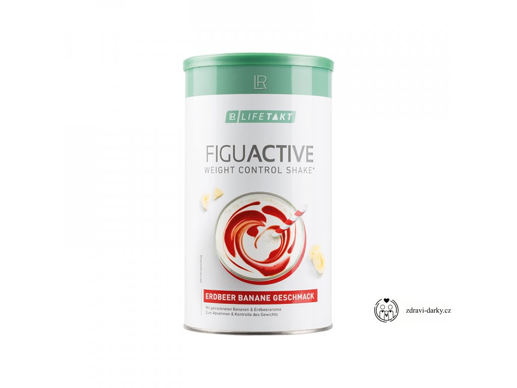 Figu Active Koktejl Jahoda-Banán, 450 g
