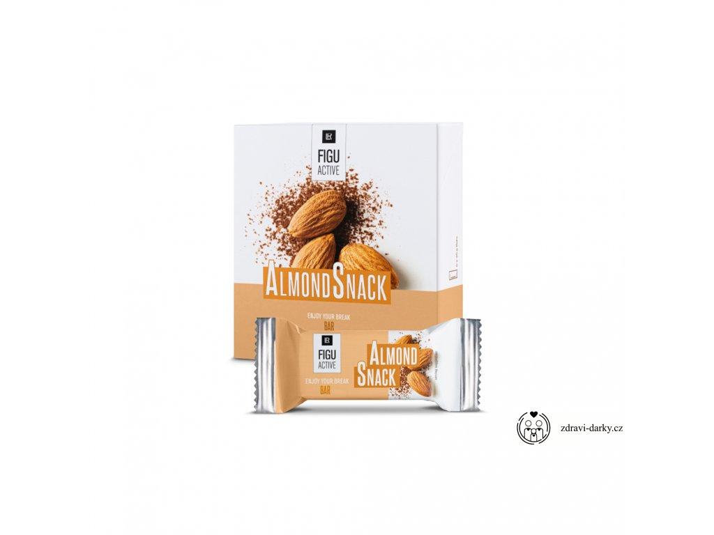 Figu Active Tyčinka Křupavý karamel, 6 x 60 g