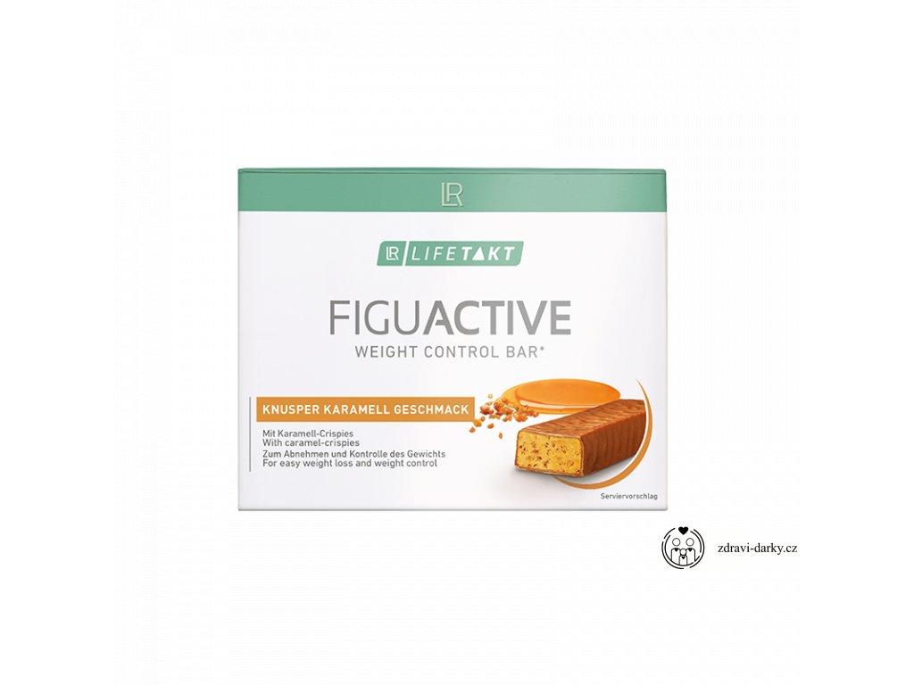 Figu Active Tyčinky s nugátovou příchutí, obsah 6 x 60 g