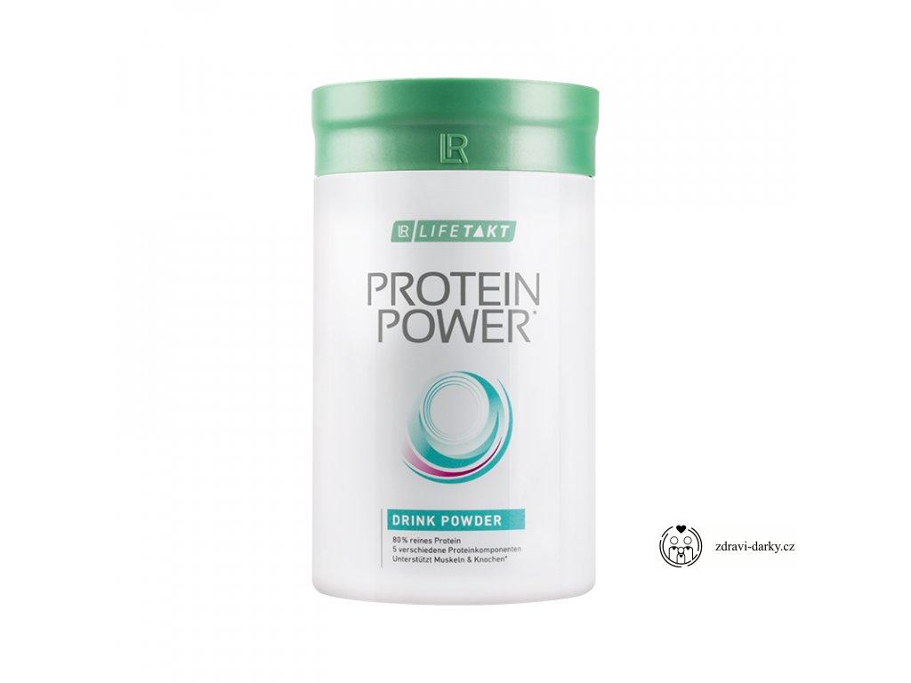 Protein Power Vanilkový nápoj v prášku, 375 g