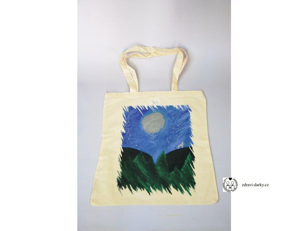 Eko-taška, dekor Úplněk