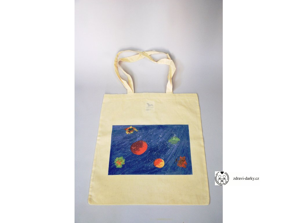 Eko-taška, dekor Planety