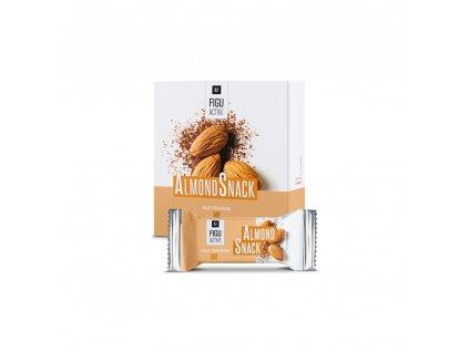Figu Active Tyčinky Křupavý karamel, obsah 6 x 60 g
