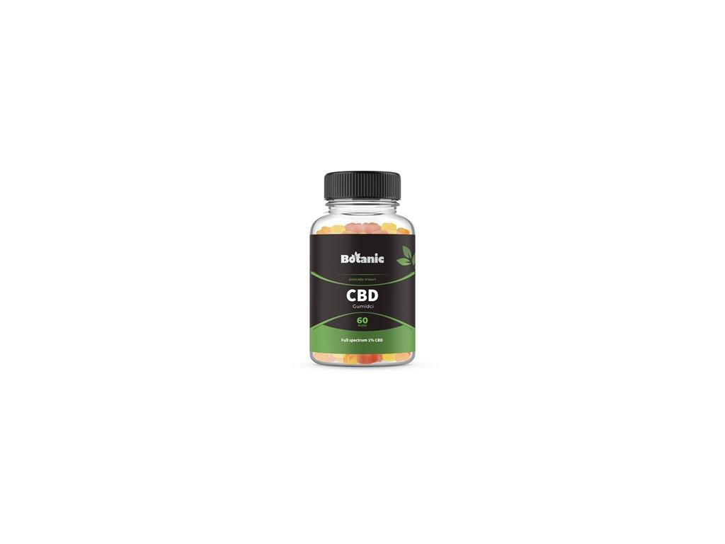 Botanic CBD Gummies - Bonbóny 60ks