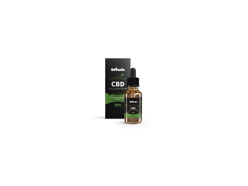 Botanic CBD Full Spektrum olej - 10% přírodní 10ml