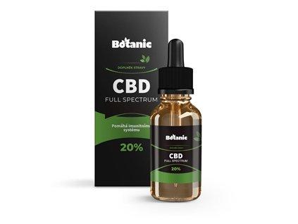 Botanic CBD Full Spektrum olej - 20% přírodní 10ml