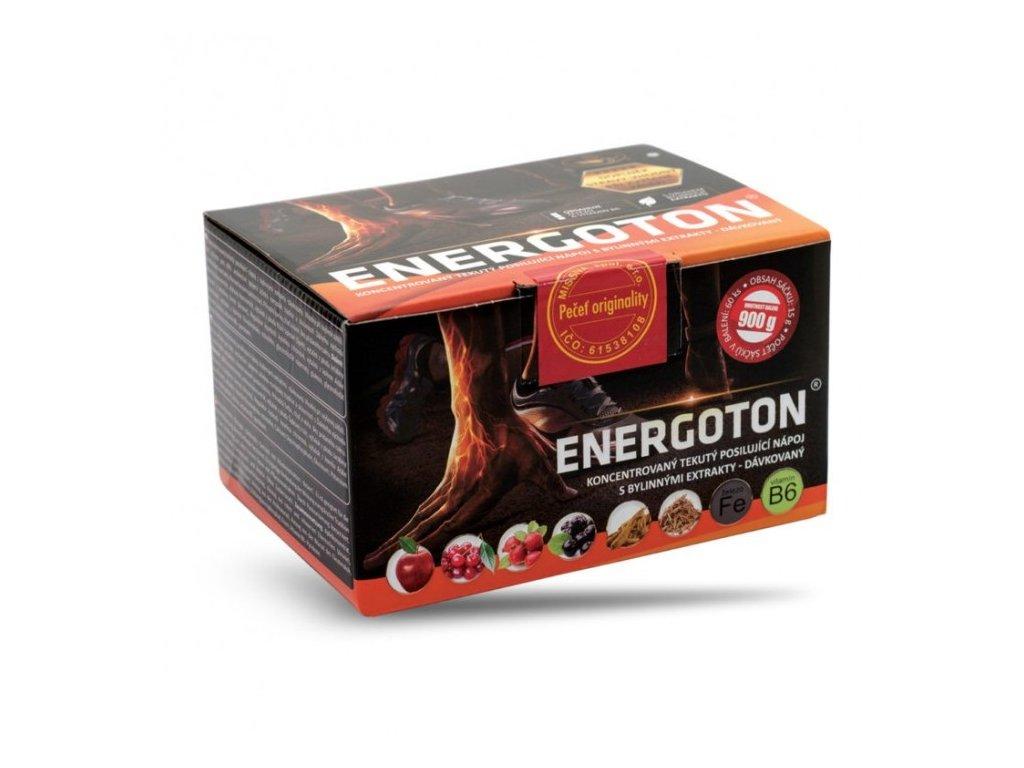 ENERGOTON - přírodní energetický nápoj s bylinnými extrakty, železem a vitamínem B6