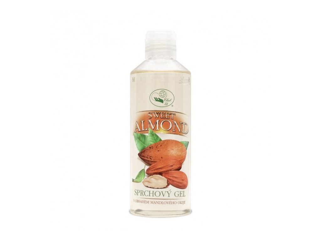 SWEET ALMOND – sprchový gel s mandlovým olejem
