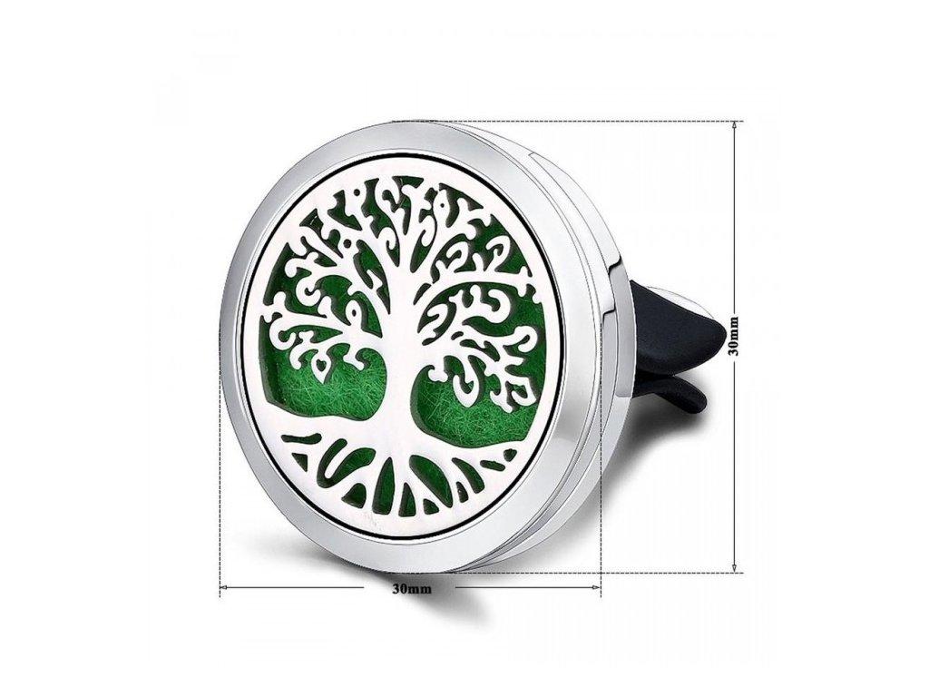 Aroma osvěžovač do auta motiv strom života