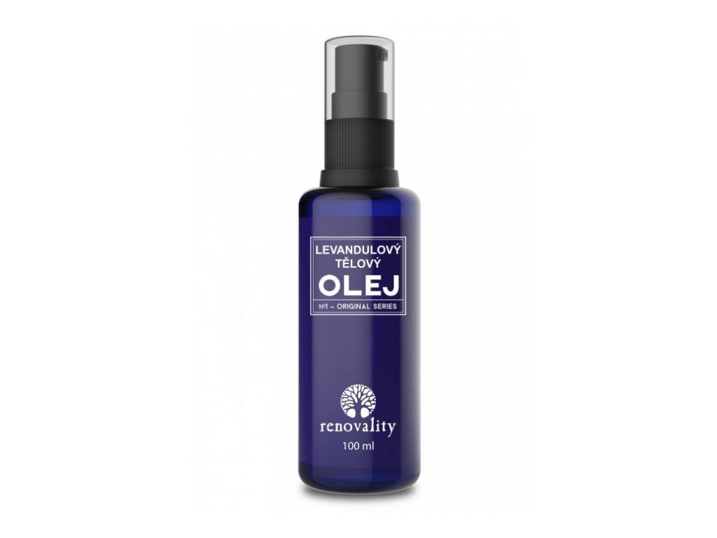 Masážní a tělový olej Levandule