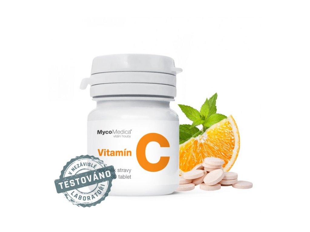Vitamín C, 30 cucavých tablet