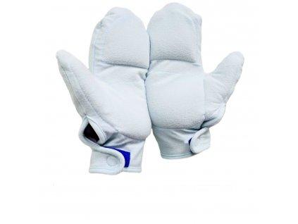 hřejivé rukavice zepředu