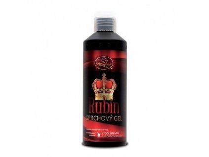 RUBÍN – sprchový gel s yogurtenem a olivovým olejem