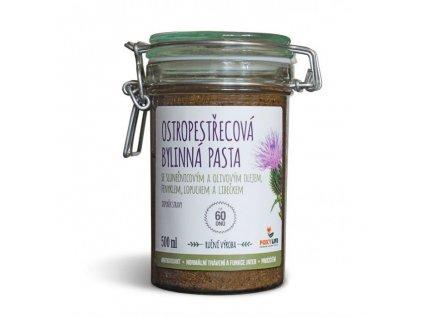 Ostropestřec mariánský - bylinná pasta