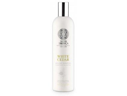 Siberie Blanche - Biely céder - šampón na objem vlasov 400 ml