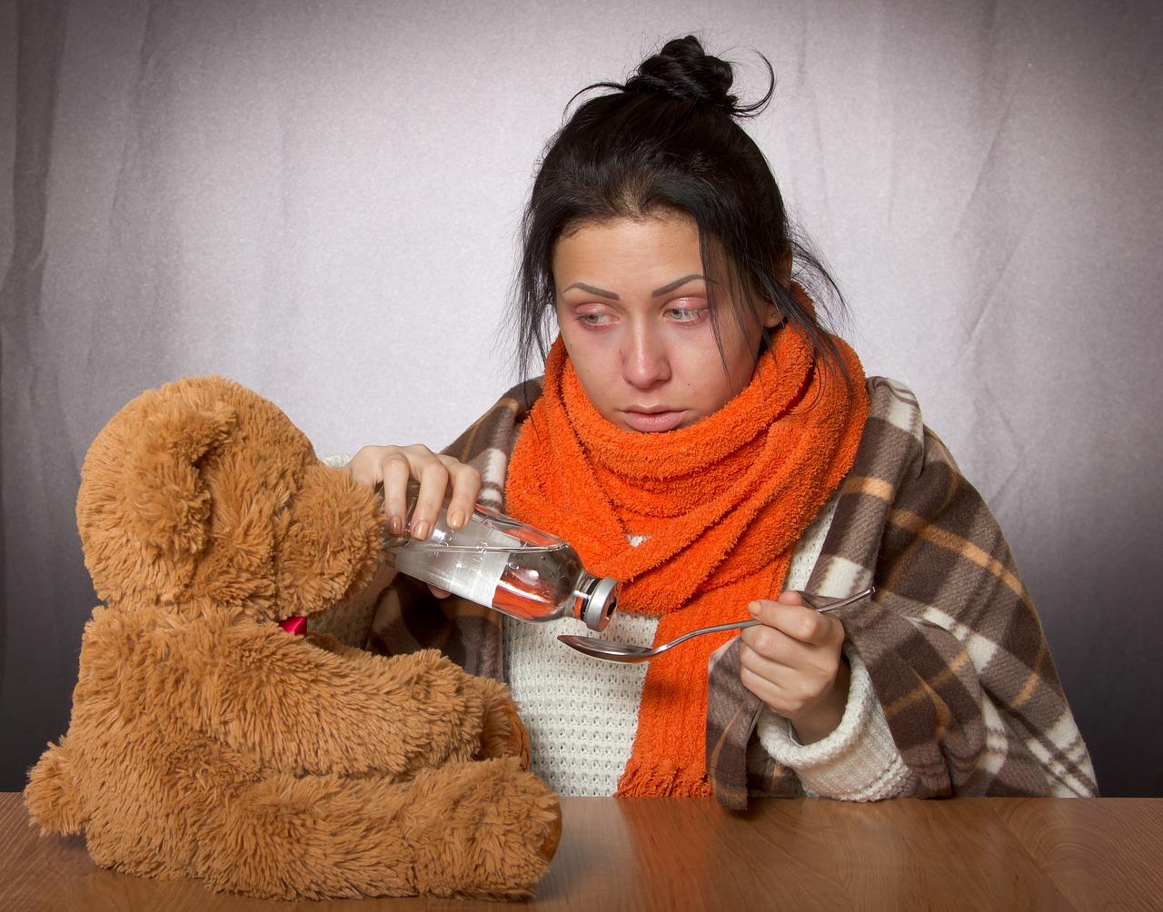Oslabení chřipkou: Jak ji urychlit?