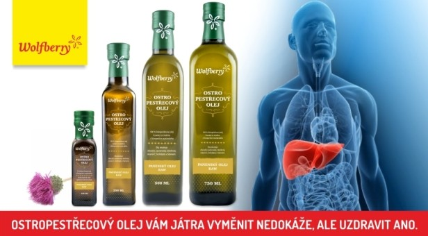 Ostropestřecový olej