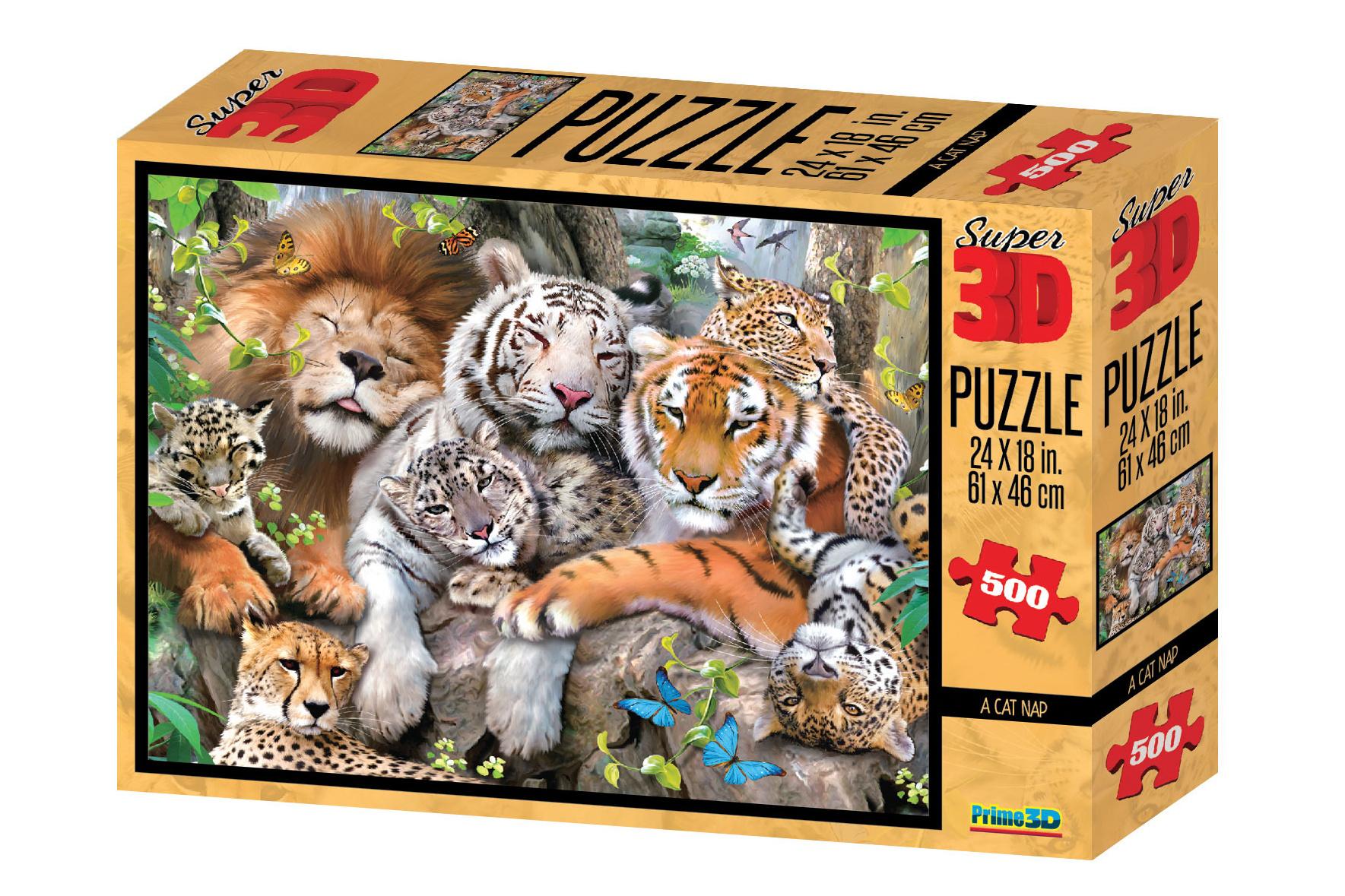 Puzzle 3D efekt