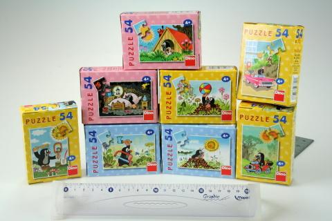 Mini puzzle 54 dílků