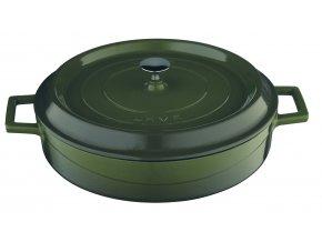 Litinové nádobí Lava - nízké hrnce (kastroly)