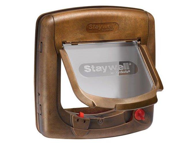 Staywell Dvířka magnetická hnědá typ 420