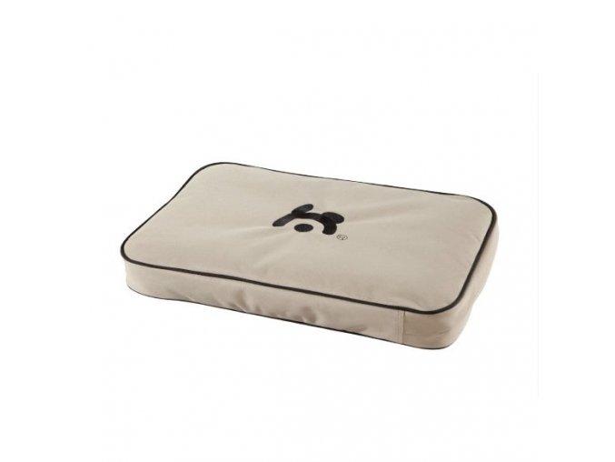 Matrace pro psa Maelson - béžová - 48 x 31 x 7 cm