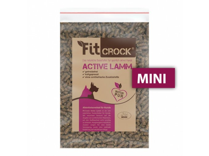 vzorek pamlsek fit crock active jehneci maxi 200 g original