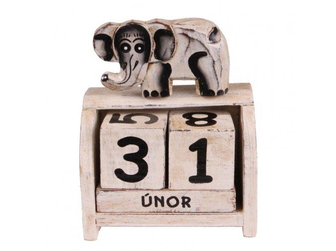 vecny kalendar slon