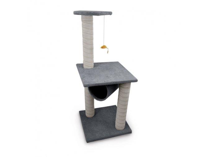 Škrabadlo pro kočky Argi - Lucy - šedé - 100 x 40 cm