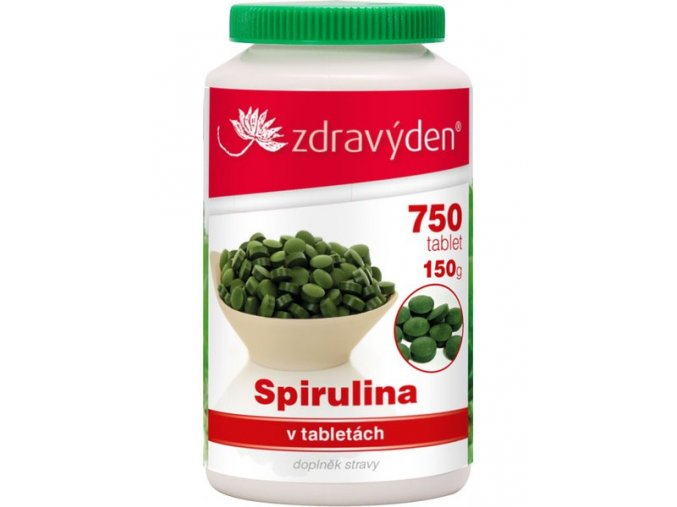 18894 1 spirulina 750 tablet 150g