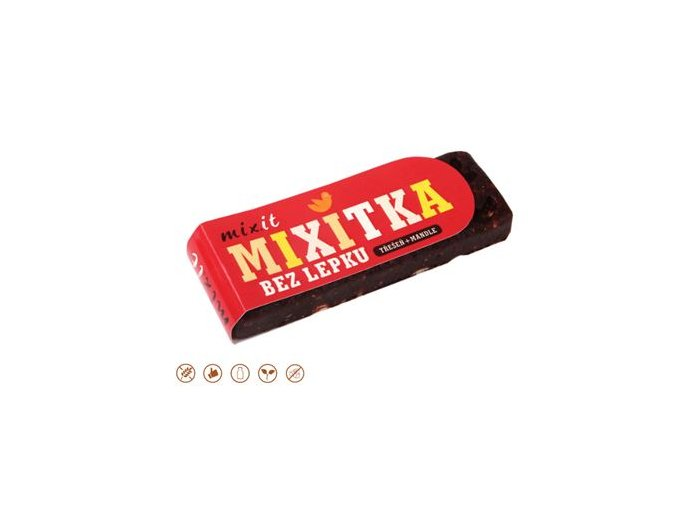 MIXIT Mixitka BEZ LEPKU - Třešeň + Mandle 50 g