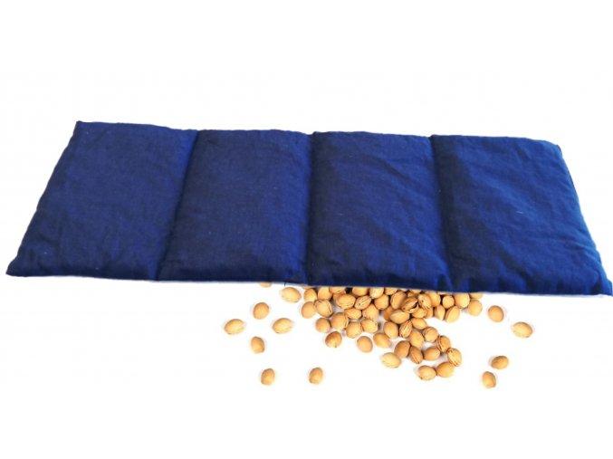 1105 2 bederni nahrivaci polstarek s tresnovymi peckami 20 x 55 cm