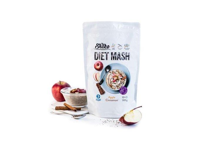 ChiaShake Dietní kaše jablečno-skořicová 10 jídel