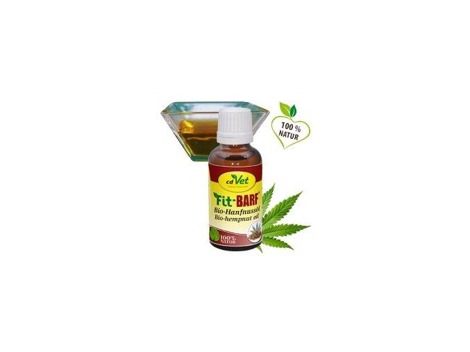 Konopný olej pro psy a kočky - cdVet